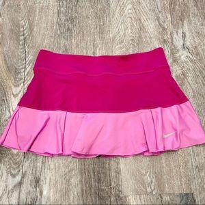 NIKE Dri-Fit Pink Flirty Knit Skort in Size Medium